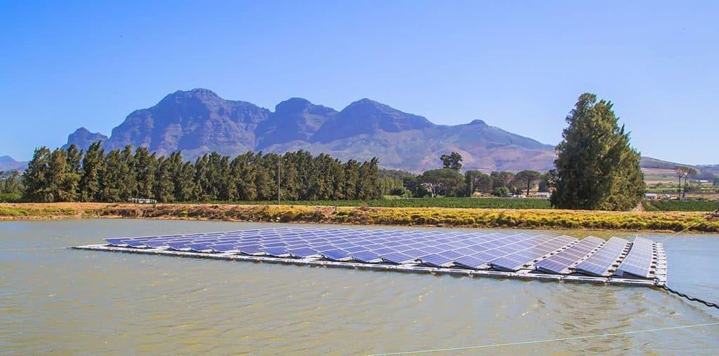 Marlenique floating solar farm