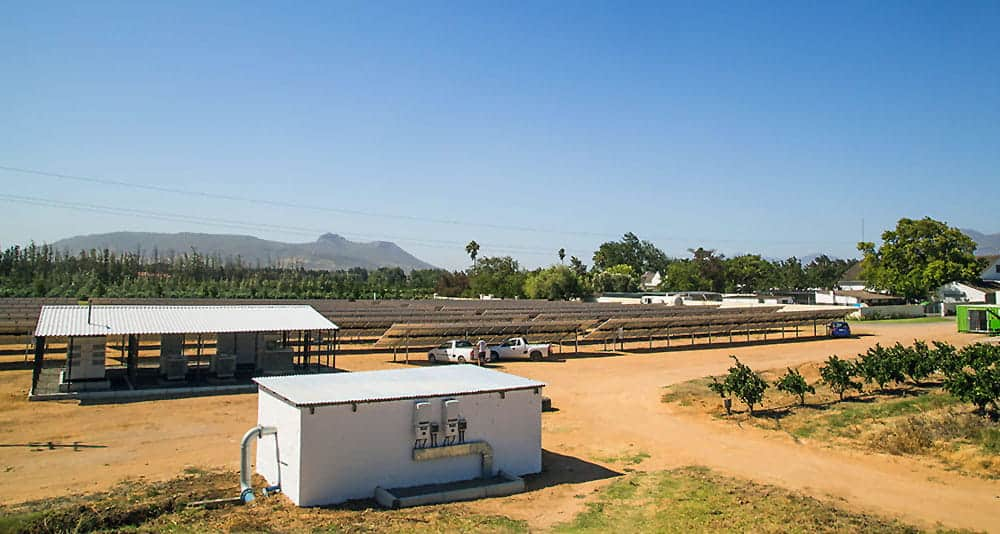 Solar Panels in Franschhoek South Africa