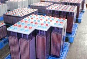 Lead acid solar battery