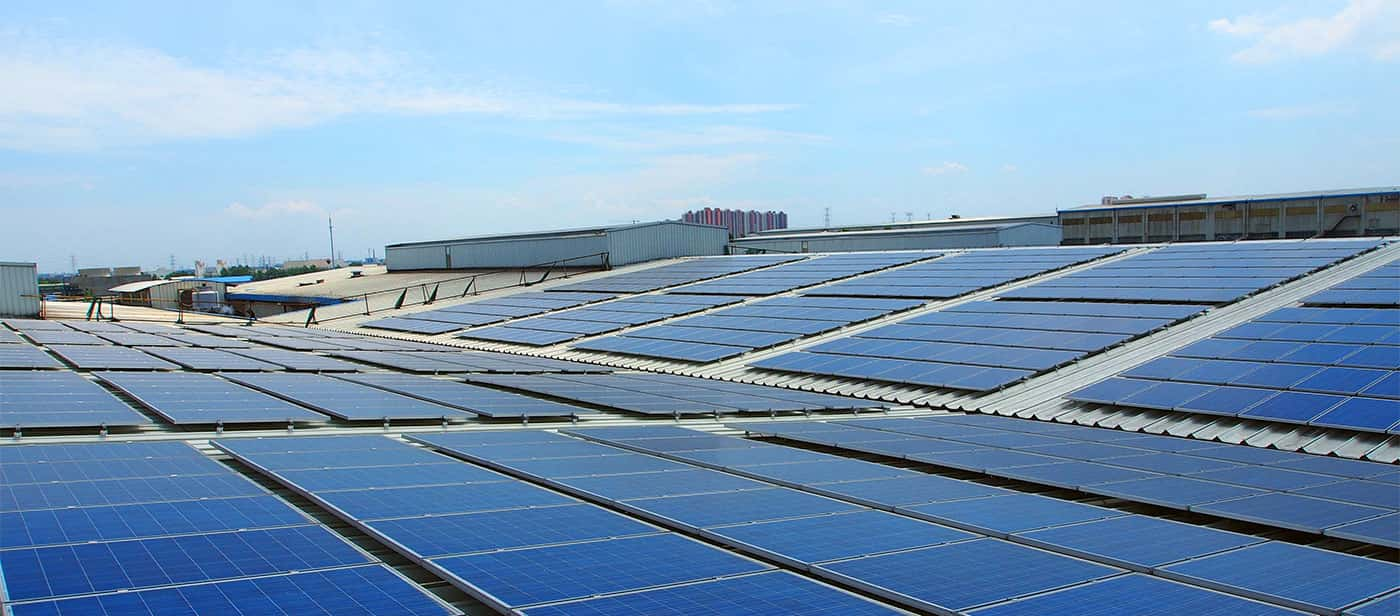 Solar Panel Efficiency Roof
