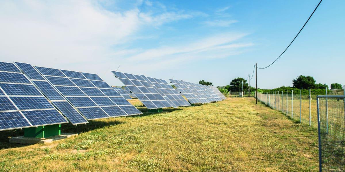 solar panelling
