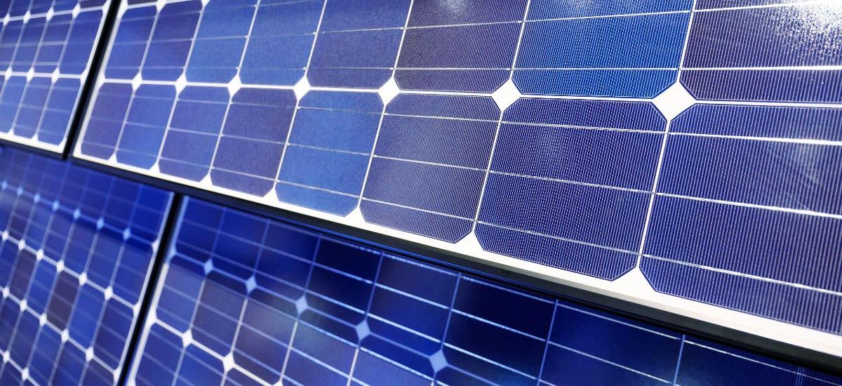 solar cells closeup